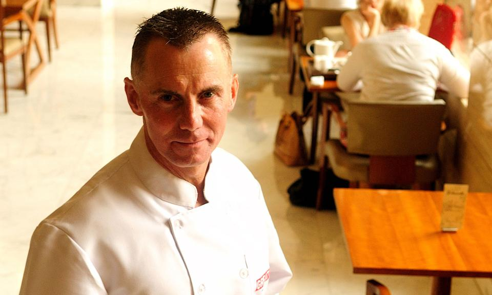 """Celebrity chef Gary Rhodes <a href=""""https://uk.news.yahoo.com/tv-chef-gary-rhodes-dead-at-59-092521786.html"""" data-ylk=""""slk:died at the age of 59;outcm:mb_qualified_link;_E:mb_qualified_link;ct:story;"""" class=""""link rapid-noclick-resp yahoo-link"""">died at the age of 59</a> in November after collapsing at his Dubai home. His family confirmed he died of a head injury following a subdural haematoma. Rhodes ran two restaurants in Dubai and had made appearances on <em>MasterChef</em> and <em>Hell's Kitchen</em>. (Photo by Pradeep Gaur/Mint via Getty Images)"""