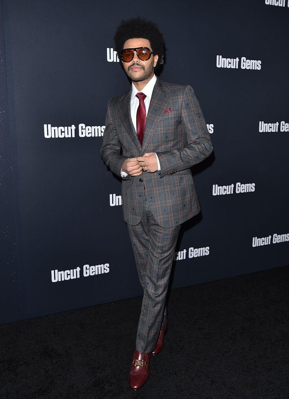 <p>Ditto the movie's premiere later that year in New York, where the singer opted for head to toe Gucci in a fit so good it'd be a crime not to include it. </p>