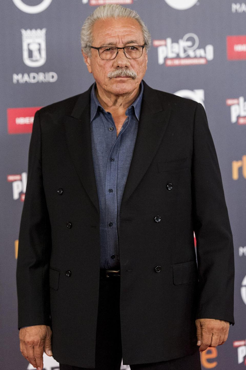 <p>Edward won over our hearts when he played A.B. Quintanilla Jr., Selena's dad, but his roster is full of accolades from before and after the movie. He's reprising his role as Gaff for <strong>Blade Runner 2049</strong> and continues to take on roles for the small screen.</p>