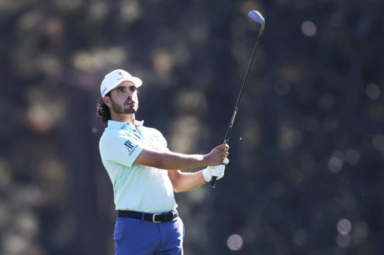 Mexico's Abraham Ancer fired a five-under par 67 in Friday's second round to grab a share of the lead at the Masters