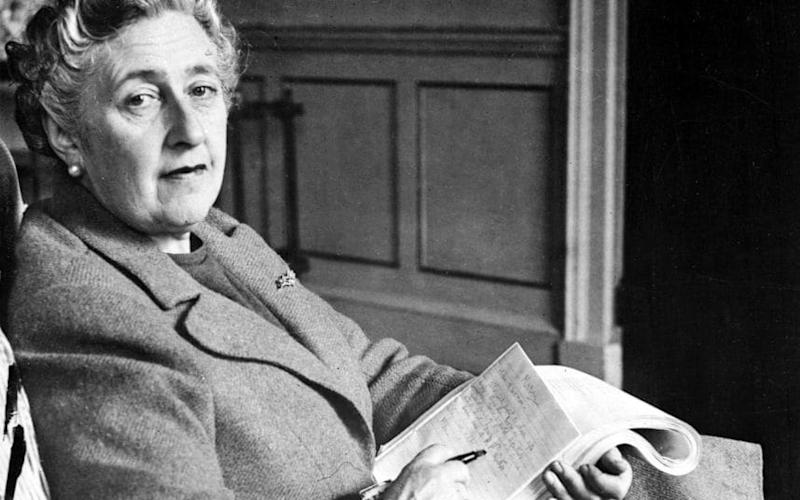 English writer Agatha Christie, in her home, Greenway House, in Devonshire, in 1946 - AFP/Getty Images