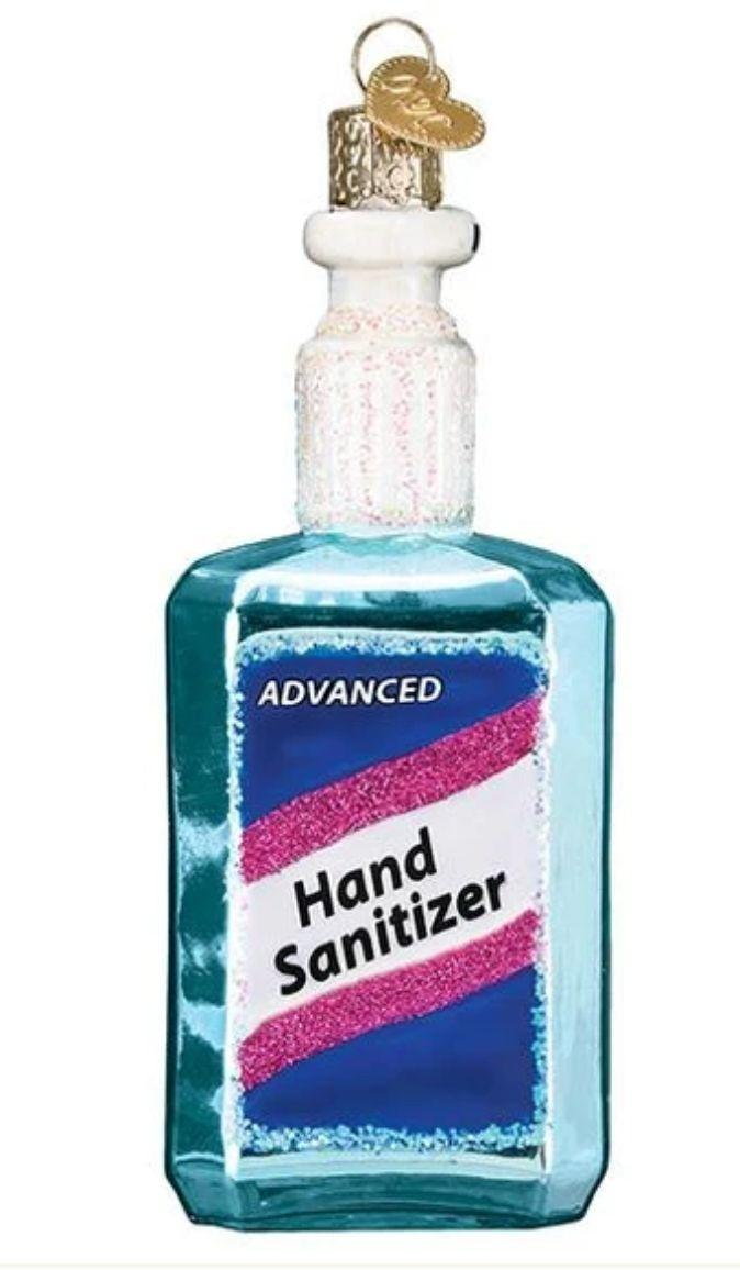 "(Photo: <a href=""https://callisterschristmas.com/collections/covid-19-quarantine/products/hand-sanitizer-ornament"" target=""_blank"">Callisters Christmas</a>)"