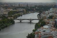 Seville, with its sunny weather, flamenco dancing and historical landmarks such as its gothic Cathedral, is Spain's third most visited city