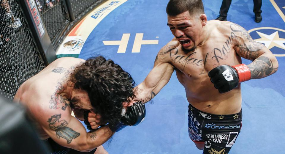Combate Americas has built an audience by using fighters with whom they identify. (Photo courtesy Combate Americas)