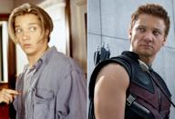 <p>Best known today for playing tightly-wound Avenger Hawkeye, a younger, floppy-haired Renner cut loose as a perpetually stoned high school troublemaker in the 1995 comedy. <i>(Photo: Everett/Marvel)</i></p>