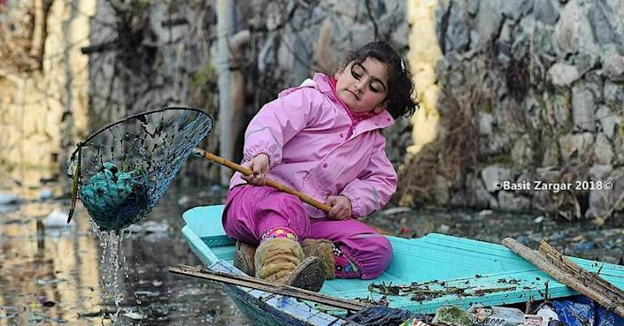 Seven-year-old, Jannat, finds mention in school textbook for cleaning Dal Lake