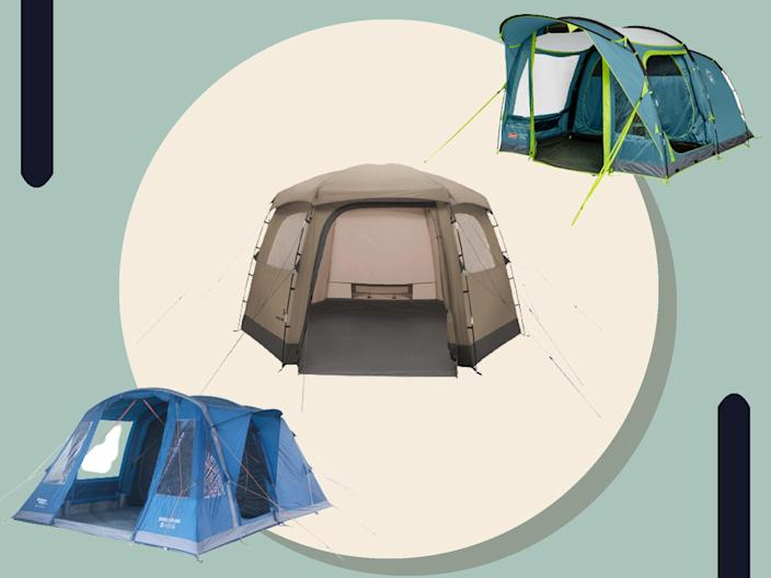<p>The right tent will ensure your family trip is a success</p> (iStock/The Independent)