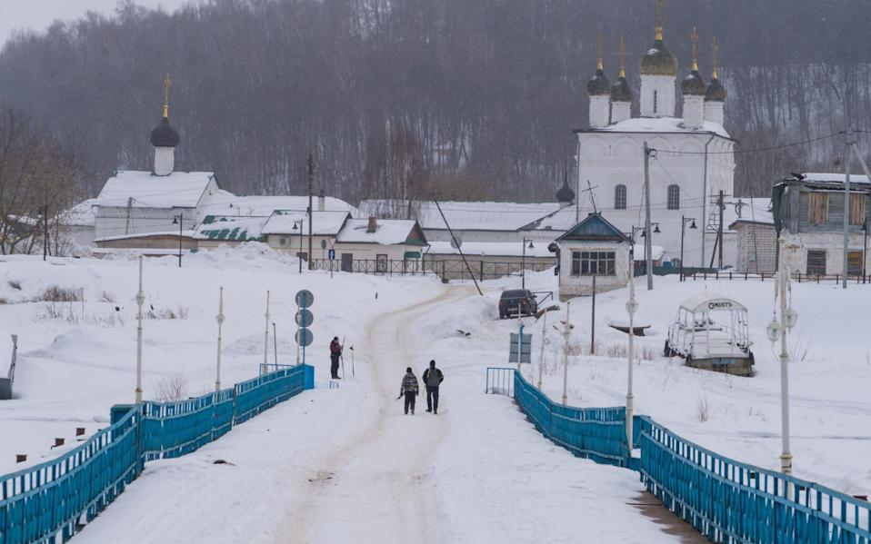 Gorokhovets is a picturesque medieval church town about five hours drive from Moscow