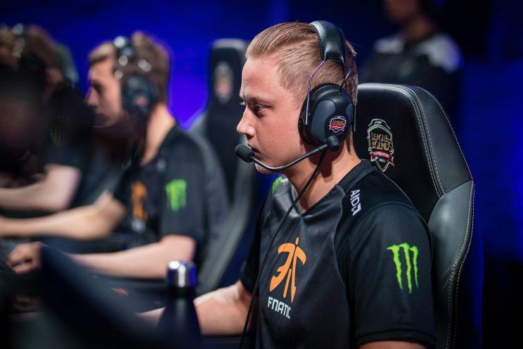 Rekkles is the AD carry for Fnatic (lolesports)
