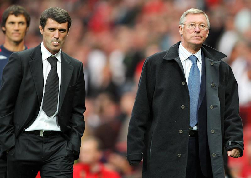 The relationship between Roy Keane and Alex Ferguson is a complicated one. (Credit: Getty Images)