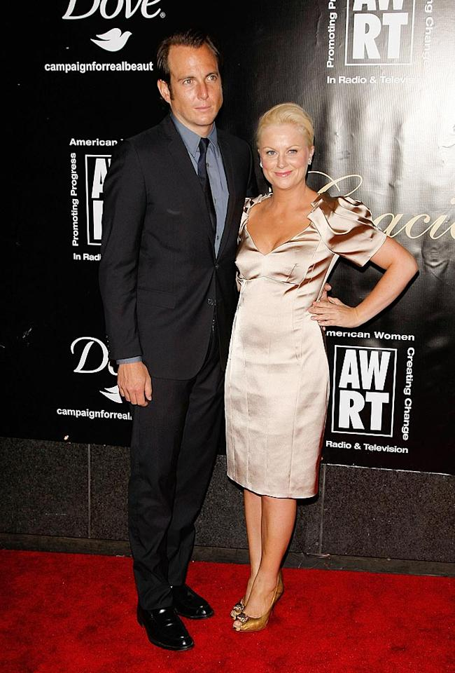 "Luckily, new parents Will Arnett and Amy Poehler found a babysitter to watch their son, Archie, who was born back in October. Jemal Countess/<a href=""http://www.gettyimages.com/"" target=""new"">GettyImages.com</a> - June 3, 2009"