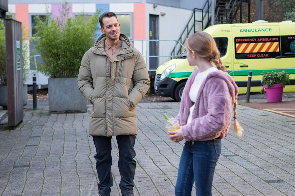 <p>He has no idea that Ella was responsible for Jordan's death at New Year.</p>