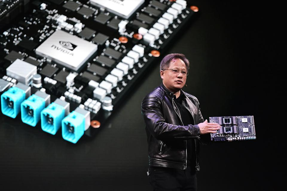 Nvidia chief executive Jense Huang