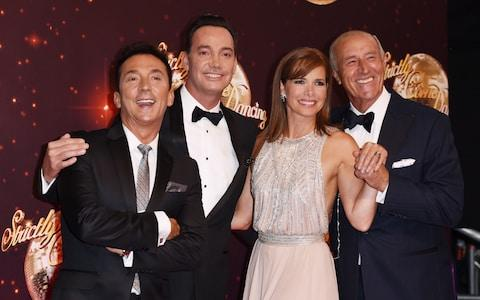 Bruno Tonioli, Craig Revel Horwood, Darcey Bussell and Len Goodman - Credit: David Fisher/REX/Shutterstock