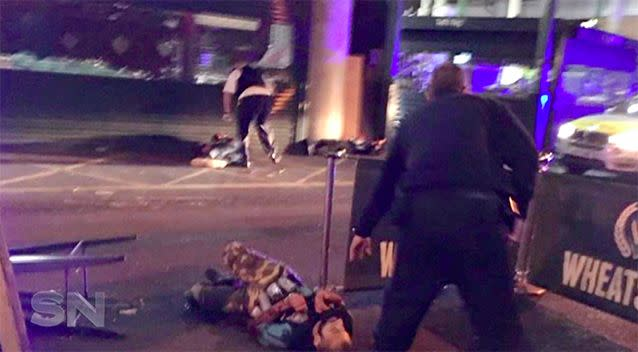 Eight people were killed and more than 50 injured in the terror attacks.