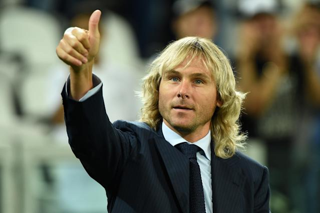 Pavel Nedved et son brushing légendaire