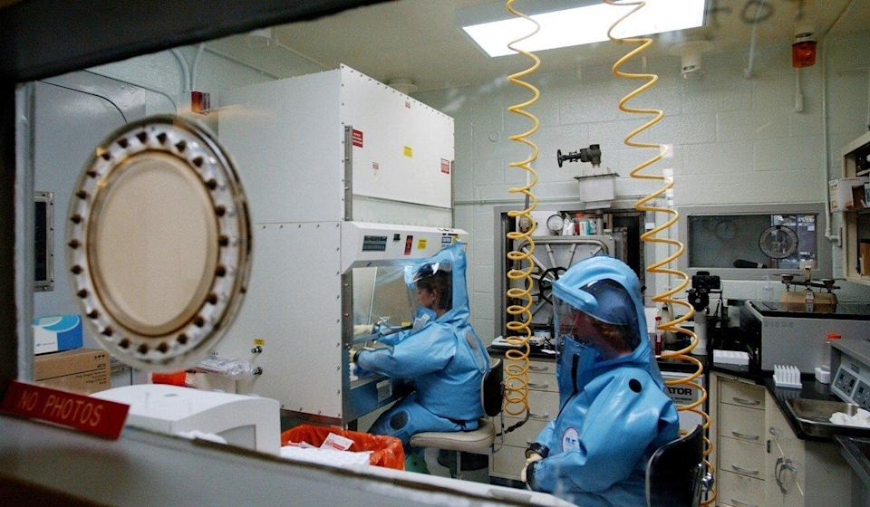 Fort Detrick's top security lab was shut down for safety violations in August 2019 and reopened the following April – a closure that became grist for the mill in China's tightly controlled domestic information environment. Photo: AFP