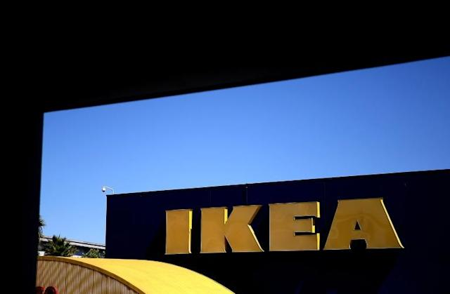 IKEA said it is cheaper to produce wood shelves and storage units and import them into the US market, than to produce them in Danville, Virginia (AFP Photo/JUSTIN SULLIVAN)