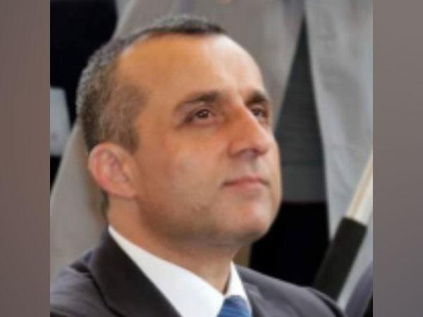 Former Afghan government first Vice President and self-proclaimed acting president Amrullah Saleh.