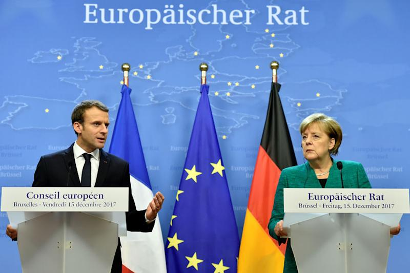 Angela Merkel Could Join Emmanuel Macron in Davos for Epic Clash with Donald Trump