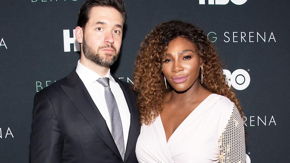 Serena Williams and husband Alexis Ohanian, pictured here in New York in 2018.