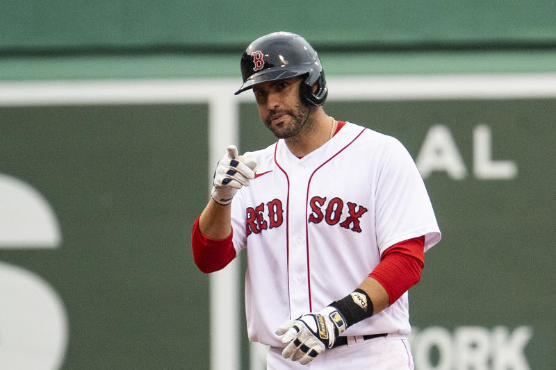 Will the Red Sox trade J.D. Martinez before Aug. 31? (Photo by Billie Weiss/Boston Red Sox/Getty Images)