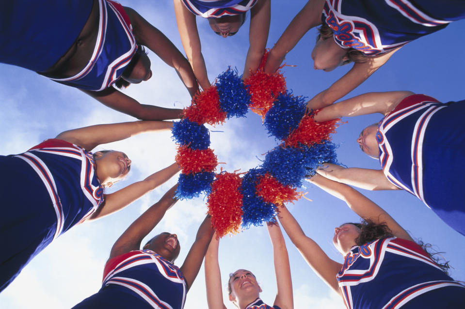 A school official has since apologized for the inappropriate comment about cheerleaders. (Photo: Zia Soleil/Getty Images)