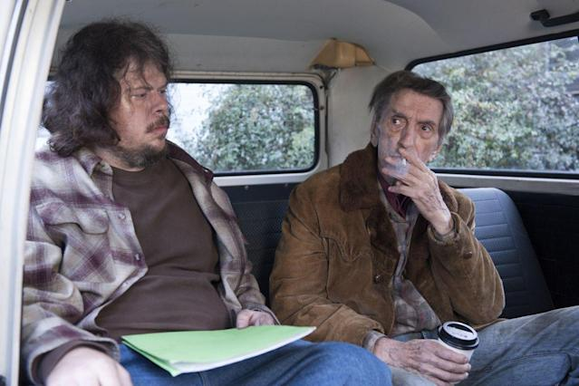 "Harry Dean Stanton (right) in ""Twin Peaks."" (Photo: Showtime)"