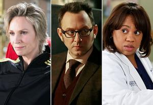 Jane Lynch, Michael Emerson, Chandra Wilson | Photo Credits: Eddy Chen/FOX, Giovanni Rufino/Warner Bros, Kelsey McNeal/ABC