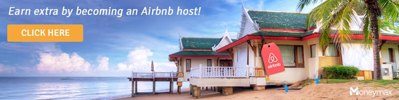 Earn extra by becoming an Airbnb host!