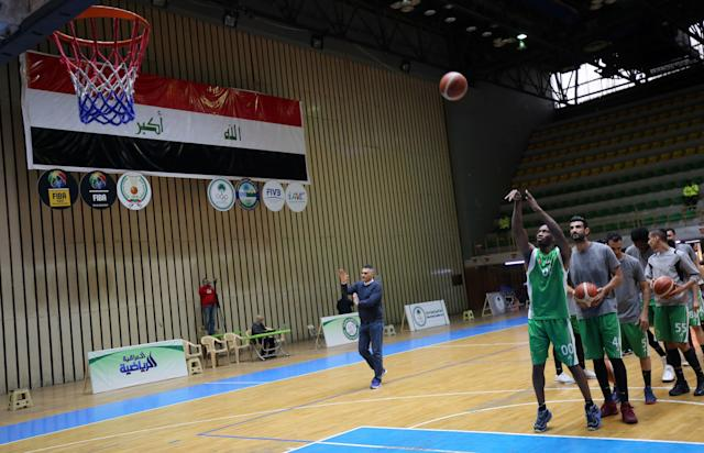 A few dozen Americans have been bold enough to play in Iraq since the country's basketball league opened its doors to foreign imports. (Getty Images)