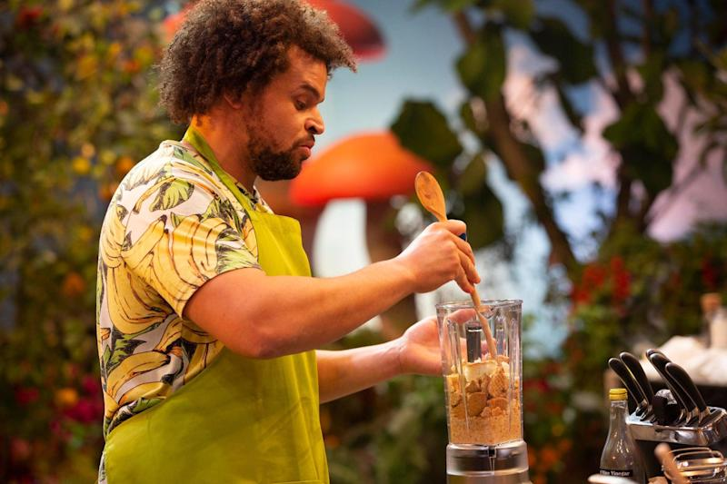 Contestants whip up bizarre creations