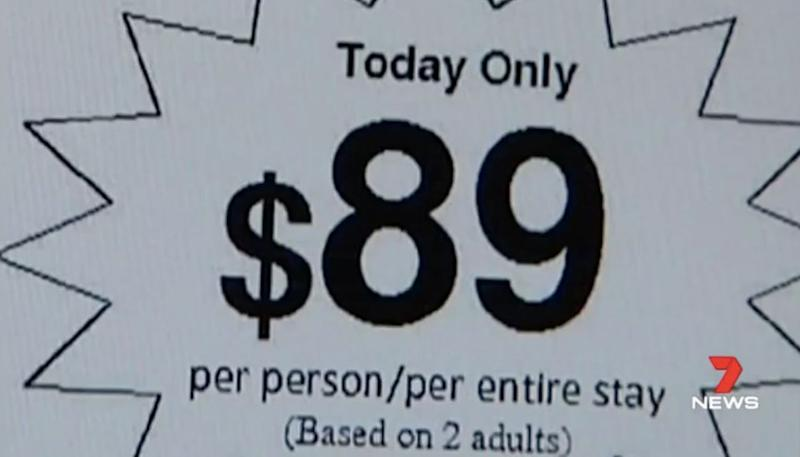 Cheap holiday deals are often too good to be true. Source: 7 News