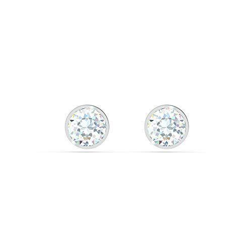 "<p><strong>SWAROVSKI</strong></p><p>amazon.com</p><p><strong>$49.00</strong></p><p><a href=""https://www.amazon.com/dp/B08837RHR7?tag=syn-yahoo-20&ascsubtag=%5Bartid%7C10055.g.4122%5Bsrc%7Cyahoo-us"" rel=""nofollow noopener"" target=""_blank"" data-ylk=""slk:Shop Now"" class=""link rapid-noclick-resp"">Shop Now</a></p><p>A little sparkle never hurts, especially when it's Swarovski. These silver-plated studs are the perfect in-between — just enough glitz for special occassions, but still small enough for everyday wear. </p>"