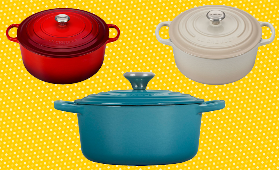 This Le Creuset classic is nearly 50 percent off at Wayfair's Presidents' Day sale! (Photo: Wayfair)