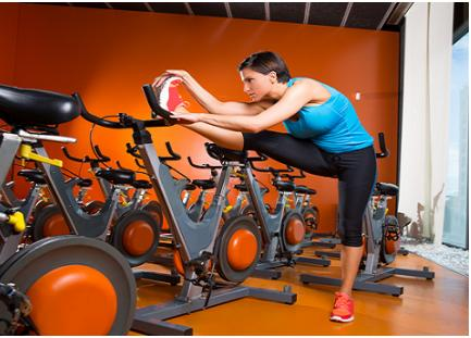 """<div class=""""caption-credit""""> Photo by: iStockphoto</div><div class=""""caption-title"""">Less impact on the body</div>Running is hard on your body. Over time that pounding on the pavement can take a toll on joints, ligaments, and muscles. Spinning works the muscles without overloading them, due to the change in body position and resistance during the class. It is known as a low-impact cardio exercise, so it is easier on your joints. Do not let the word """"low-Impact"""" fool you though. You will still get a great workout. <br> <i><b><a rel=""""nofollow"""" target="""""""" href=""""http://www.babble.com/best-recipes/top-foods-for-weight-gain-and-loss-how-does-your-diet-stack-up/?cmp=ELP