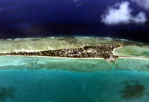 The Pacific island nation of Kiribati is a collection of 33 far-flung atolls and reefs scattered over an area the size of the continental United States