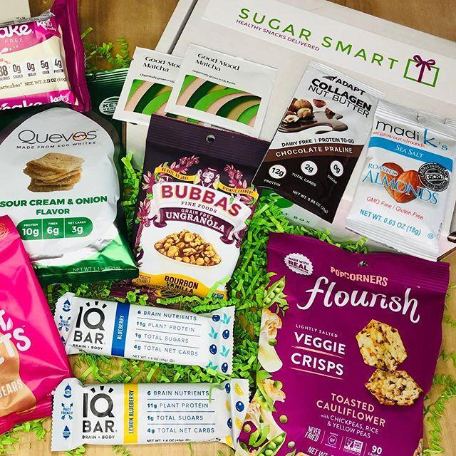 """<p><strong>Best for anyone trying to cut down on sugar</strong></p><p>Food marketing can often be misleading, but with the Sugar Smart Box, you know exactly what you'll get each month: an assortment of snacks with five grams of sugar or less per serving. That's great news for anyone with diabetes who can't often find suitable snack options on the go, but it's also great for, well, <em>anyone </em>trying to eat a little less sugar. </p><p>Each monthly box comes with seven items. You'll receive tasty eats like protein chips, dried edamame snacks, and grain-free granola bars.</p><p><strong>Price: </strong>Starts at $29.95/month</p><p><a class=""""link rapid-noclick-resp"""" href=""""https://www.sugarsmartbox.com/"""" rel=""""nofollow noopener"""" target=""""_blank"""" data-ylk=""""slk:CHECK OUT SUGAR SMART BOX"""">CHECK OUT SUGAR SMART BOX</a></p><p><a href=""""https://www.instagram.com/p/B2gw0o7gOUJ/"""" rel=""""nofollow noopener"""" target=""""_blank"""" data-ylk=""""slk:See the original post on Instagram"""" class=""""link rapid-noclick-resp"""">See the original post on Instagram</a></p>"""
