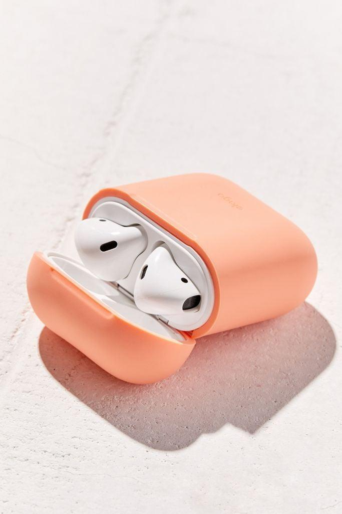 <p>The <span>Elago AirPods Hang Case</span> ($15) keeps their AirPods close by (and hopefully helps them to be less likely to lose the small case).</p>