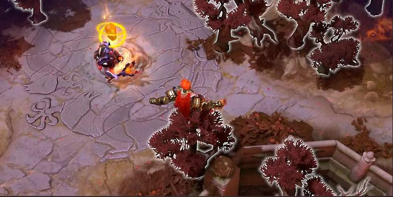Monkey King can jump atop trees. (Valve)