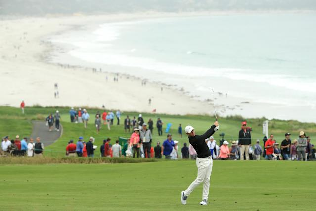 The 119th U.S. Open begins under a cloud of unease between golfers and the USGA. (Getty)