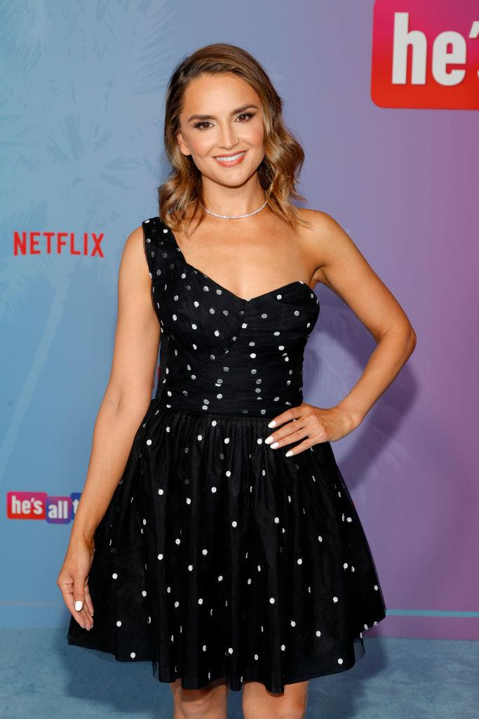 Rachael Leigh Cook attends the premiere of