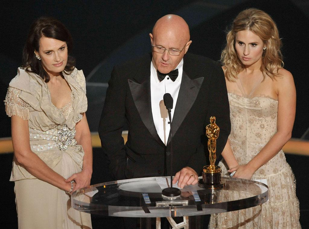 """<strong>2009</strong> – The 81st Academy Awards were held on this day at the Kodak Theatre in Hollywood. Danny Boyle's """"Slumdog Millionaire"""" took home eight statues including Best Picture, but the most memorable moment of the evening came when <a href=""""http://movies.yahoo.com/person/heath-ledger/"""">Heath Ledger</a>'s family accepted his posthumously awarded Best Supporting Actor Oscar for the Ledger's portrayal of the Joker in """"The Dark Knight"""". <br /><br />"""