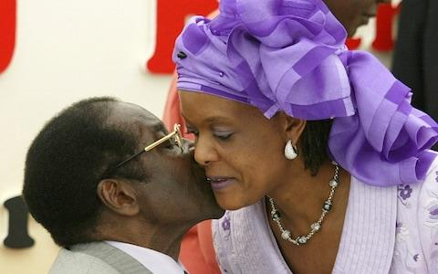 Mugabe's wife Grace will inherit his assets if no will is found - Credit: REUTERS/Howard Burditt