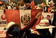 Peruvians await presidential election results