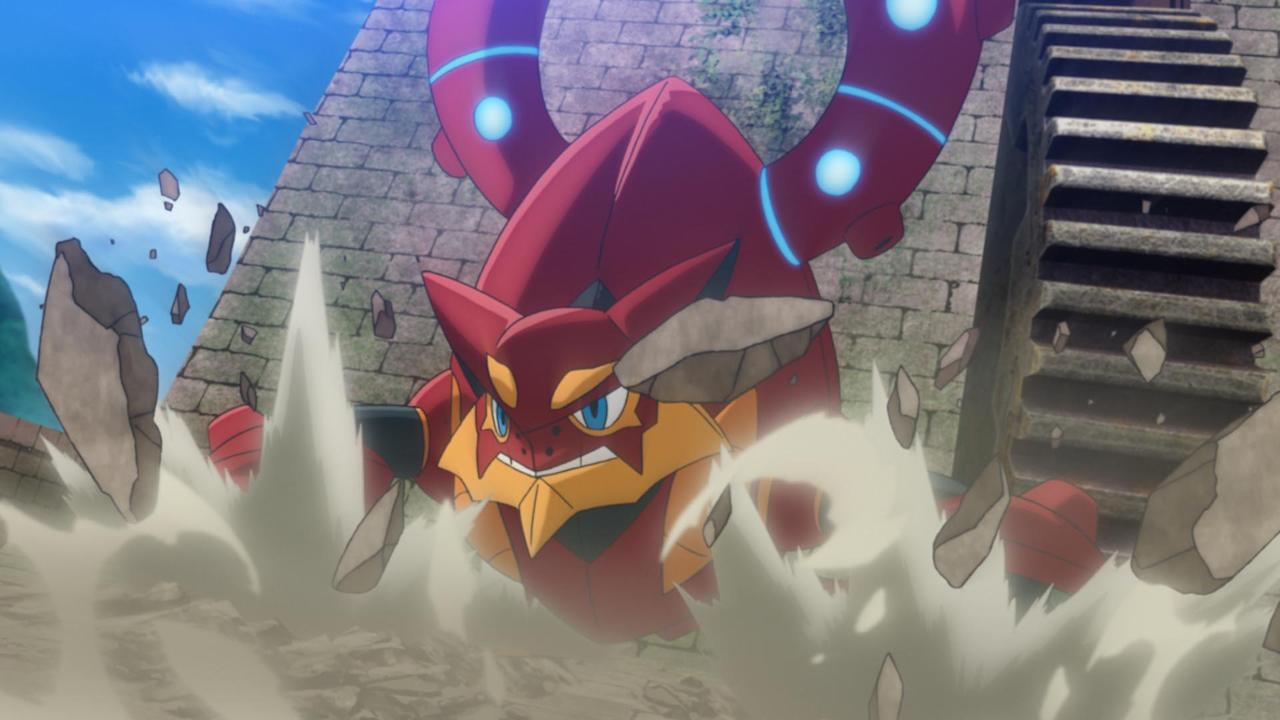 Review Pokemon Volcanion And The Mechanical Marvel Intrigues