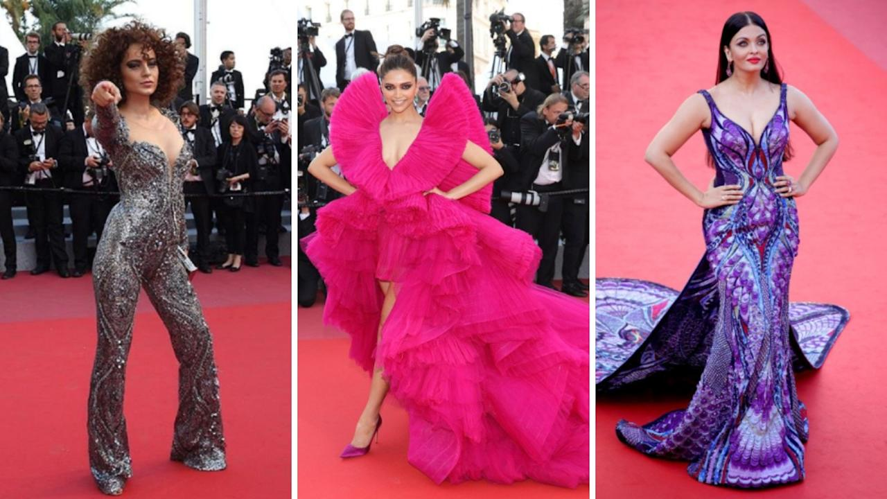 Cannes Film Festival fashion: Wow-factor celebrity outfits from years gone by