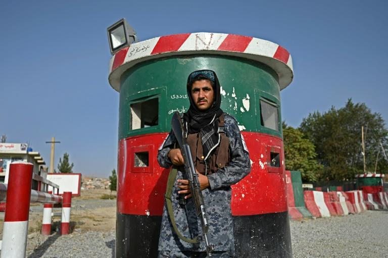The Taliban claim crime has dramatically dropped in Kabul since they took over, though the figures cannot be independently verified (AFP/WAKIL KOHSAR)