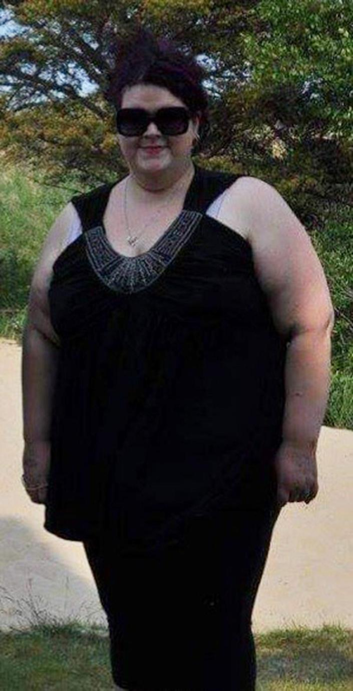 At 550 pounds, Jacki Roberts realized that her weight was holding her back from enjoying life.  (Courtesy Jacki Roberts)