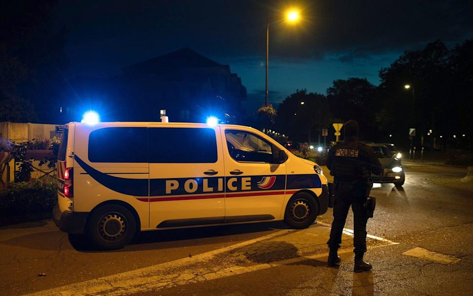 French police are treating the attack as terror - AFP